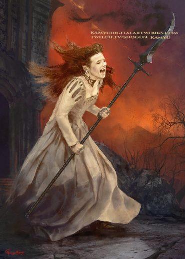 A vampire noble lady